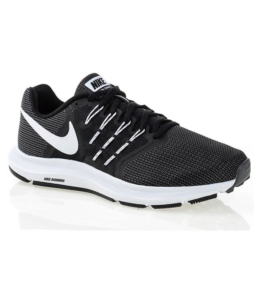 d264ca4bea317 Nike run Swift 909006-001 Black Training Shoes - Buy Nike run Swift 909006-001  Black Training Shoes Online at Best Prices in India on Snapdeal