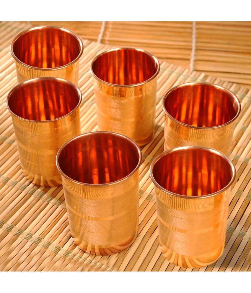 TAU Copper 300 ml Glasses