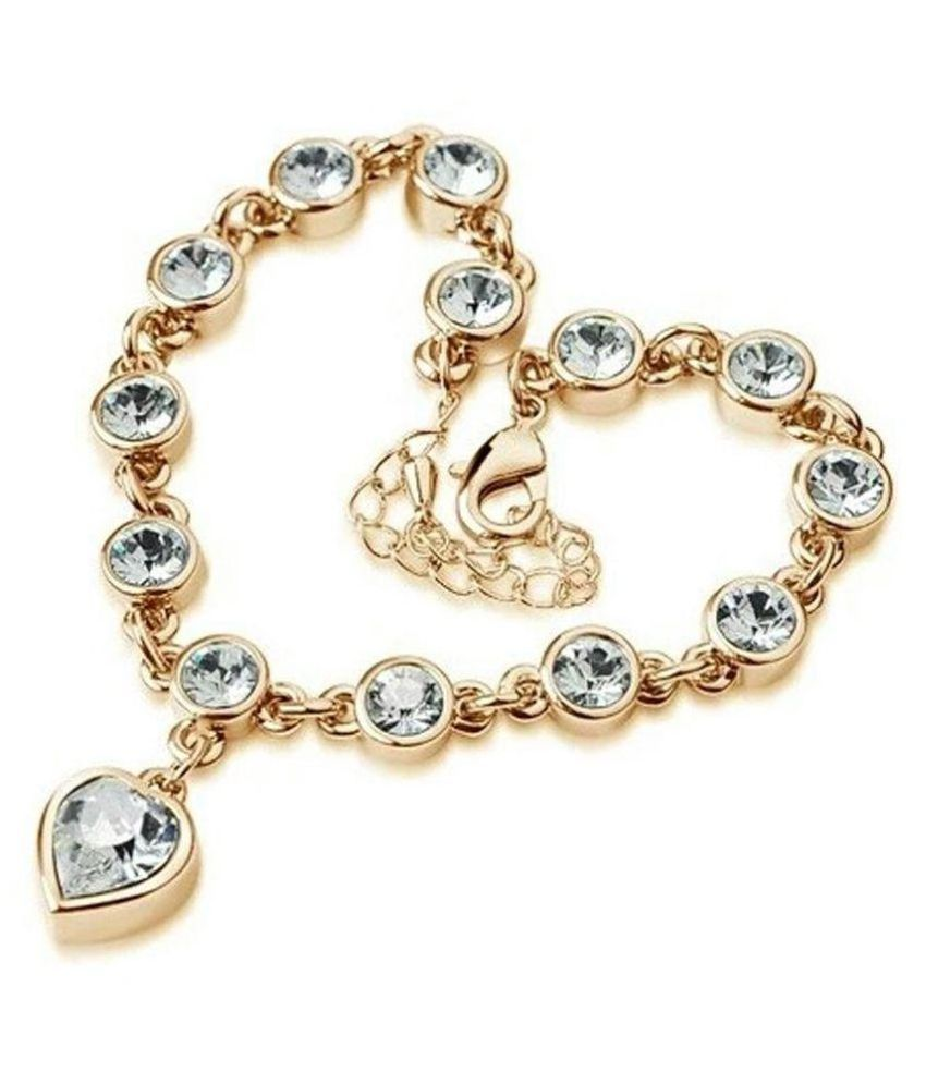 University Trendz Golden Bracelet