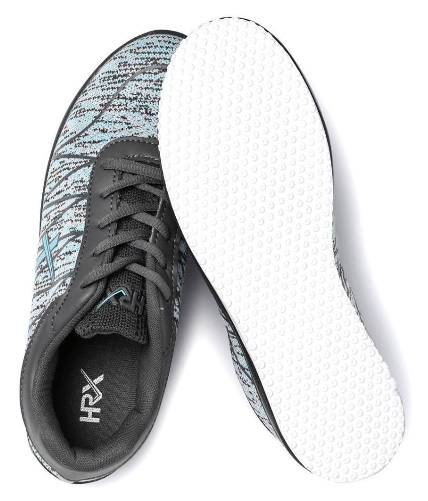HRX Gray Running Shoes Price in India- Buy HRX Gray