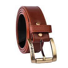Woodland Scenics Brown Faux Leather Casual Belt - Pack of 1