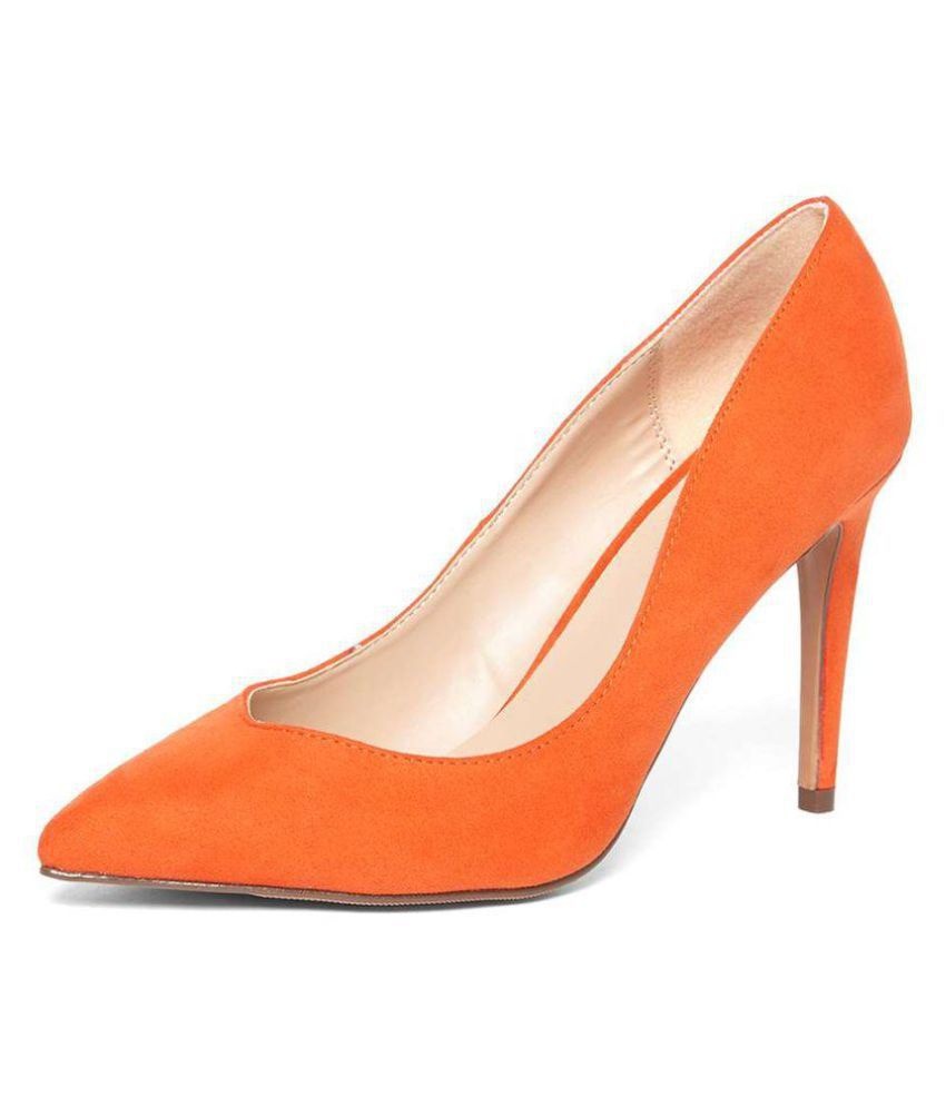 Dorothy Perkins Orange Stiletto Heels