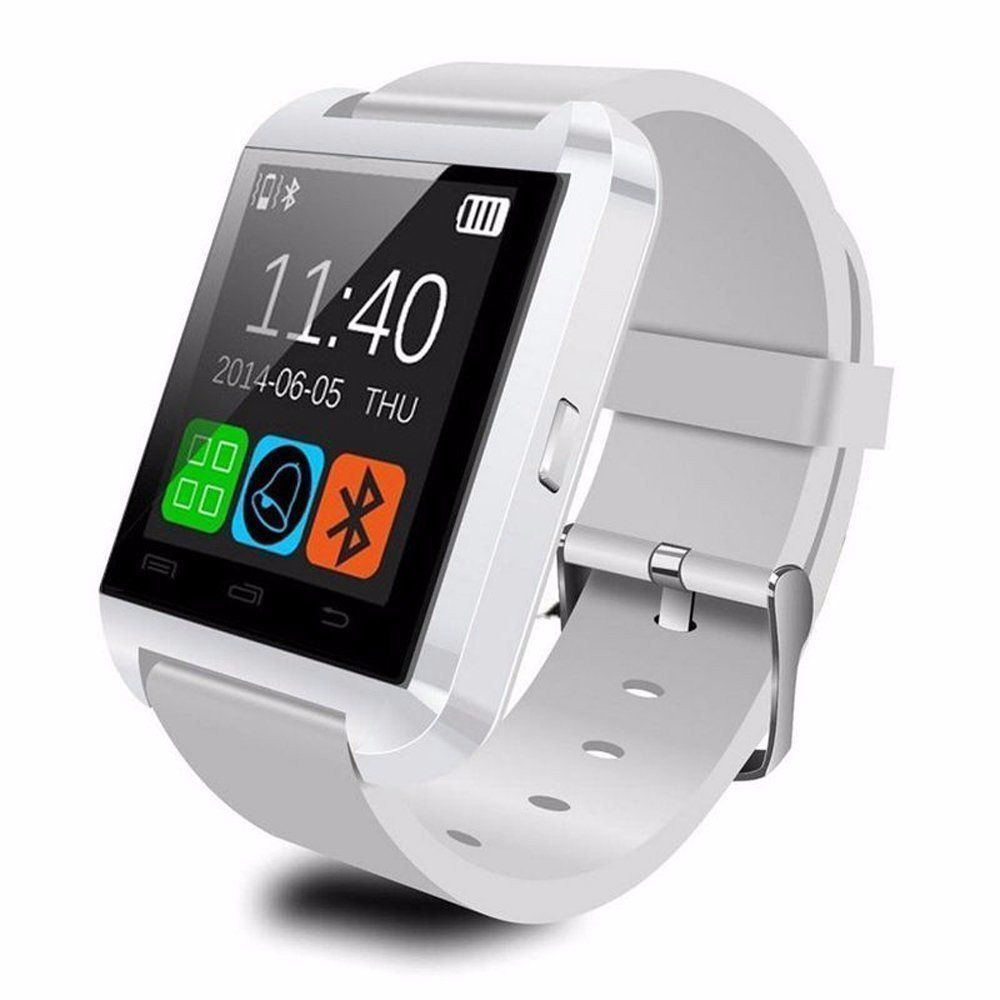 M-STARK U8 Smartwatch suitable  for Canvas Selfie A255 Smart Watches