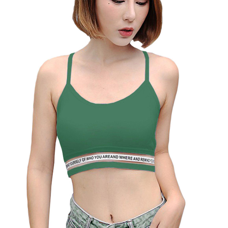 kjk cos Nylon Bralette - Green