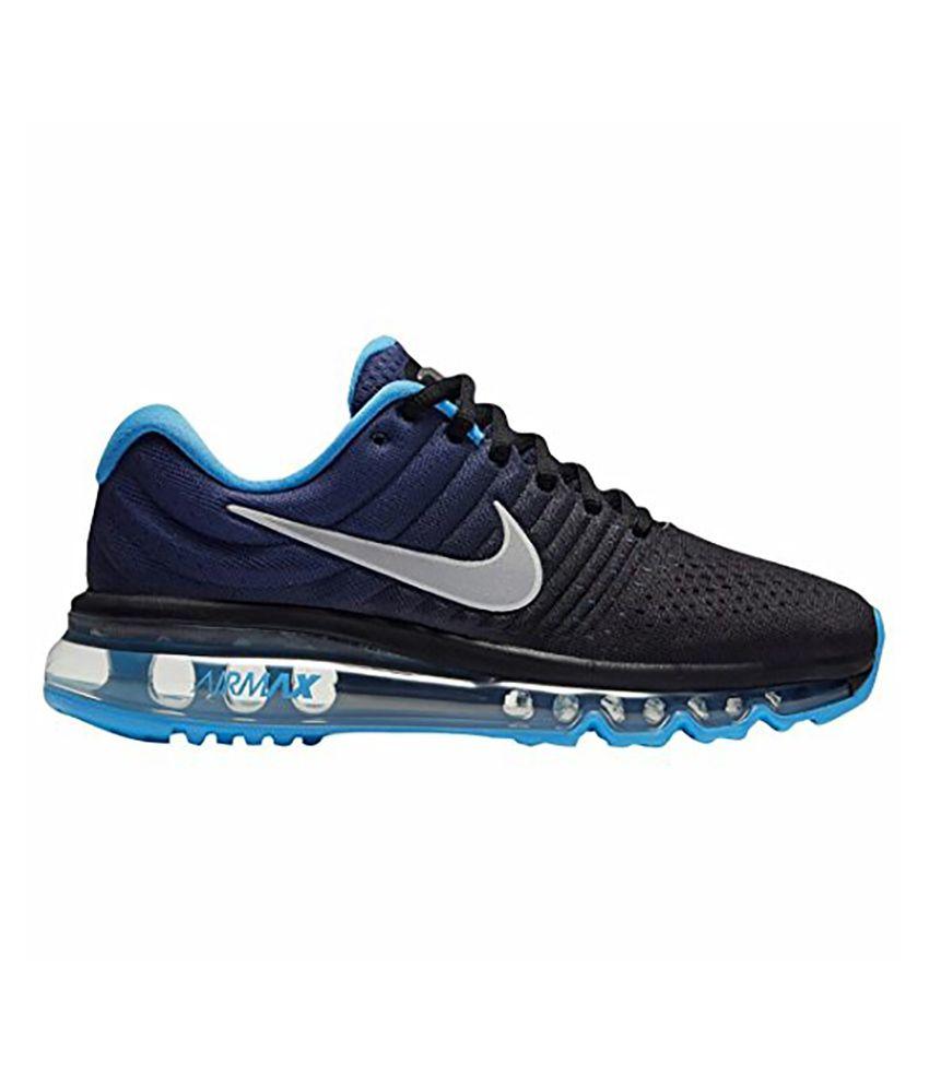 Nike Air Max 2017 Blue Running Shoes - Buy Nike Air Max ...