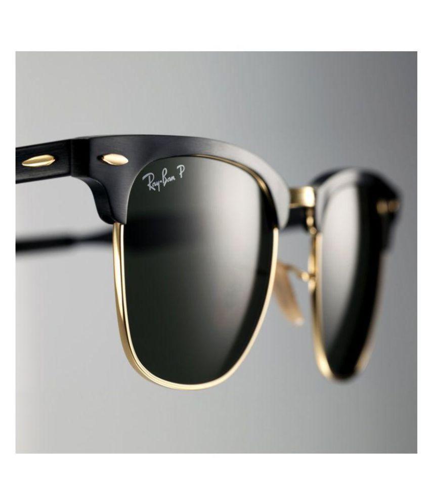 Ray Ban Avaitor Black Aviator Sunglasses ( cm black )