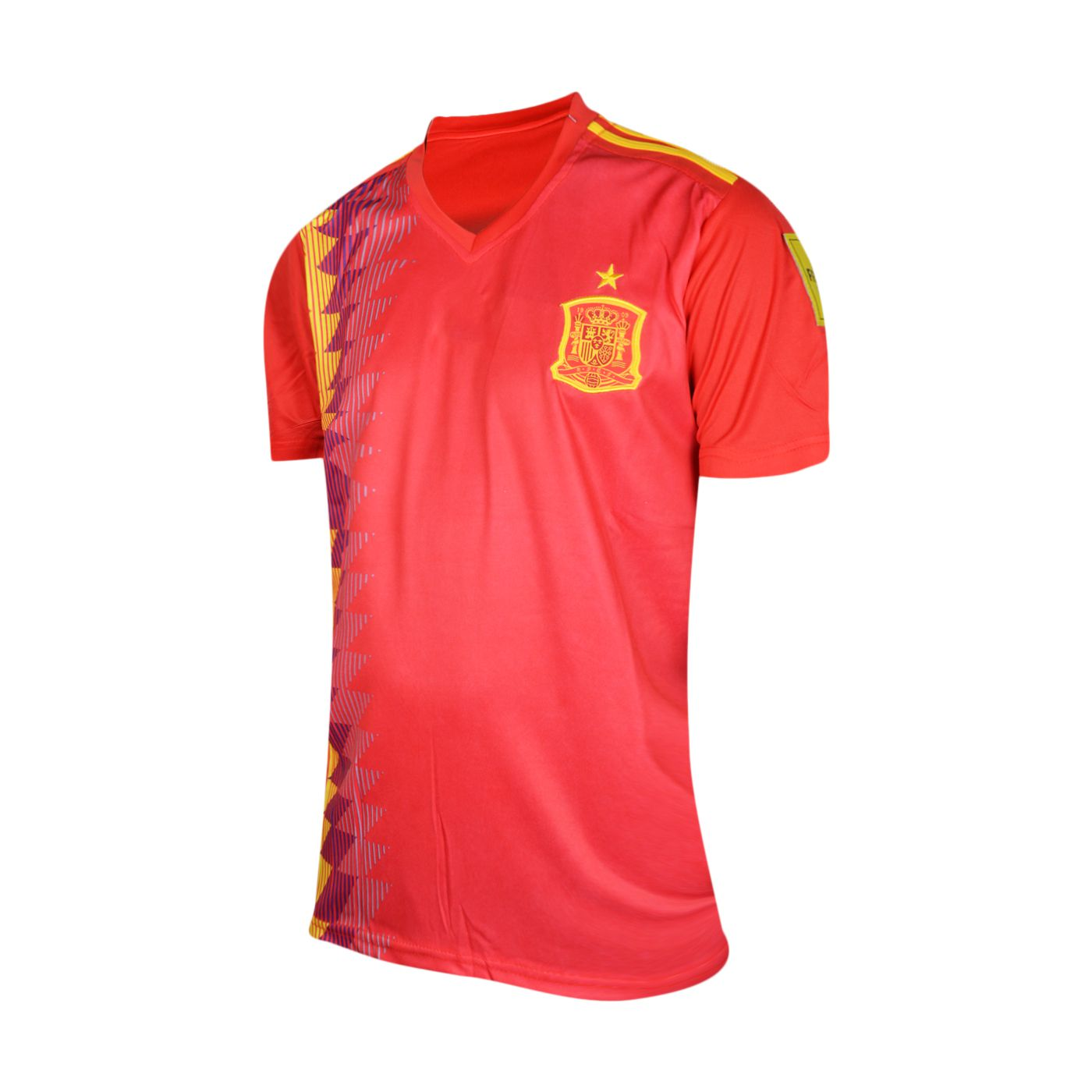 huge selection of fc257 affe5 FIFA World Cup Spain National Team Home Red Football Jersey