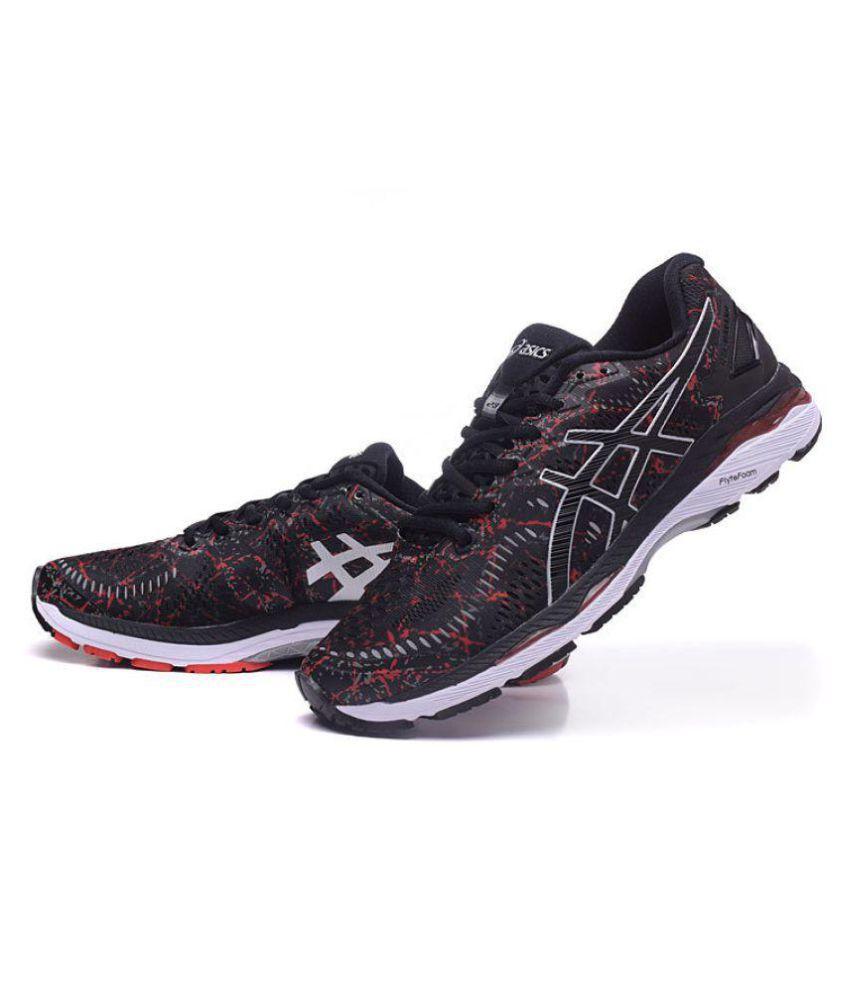 superior quality 9e93e c9140 Asics GEL-KAYANO 23 Black Running Shoes