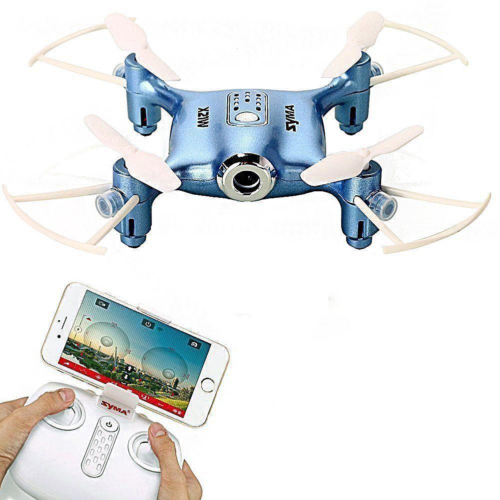 a46d9ba50be Toyhouse Syma X21W Wifi FPV Mini Drone With Camera Live Video LED Nano  Pocket RC Quadcopter With GYRO App Control, Blue - Buy Toyhouse Syma X21W  Wifi FPV ...
