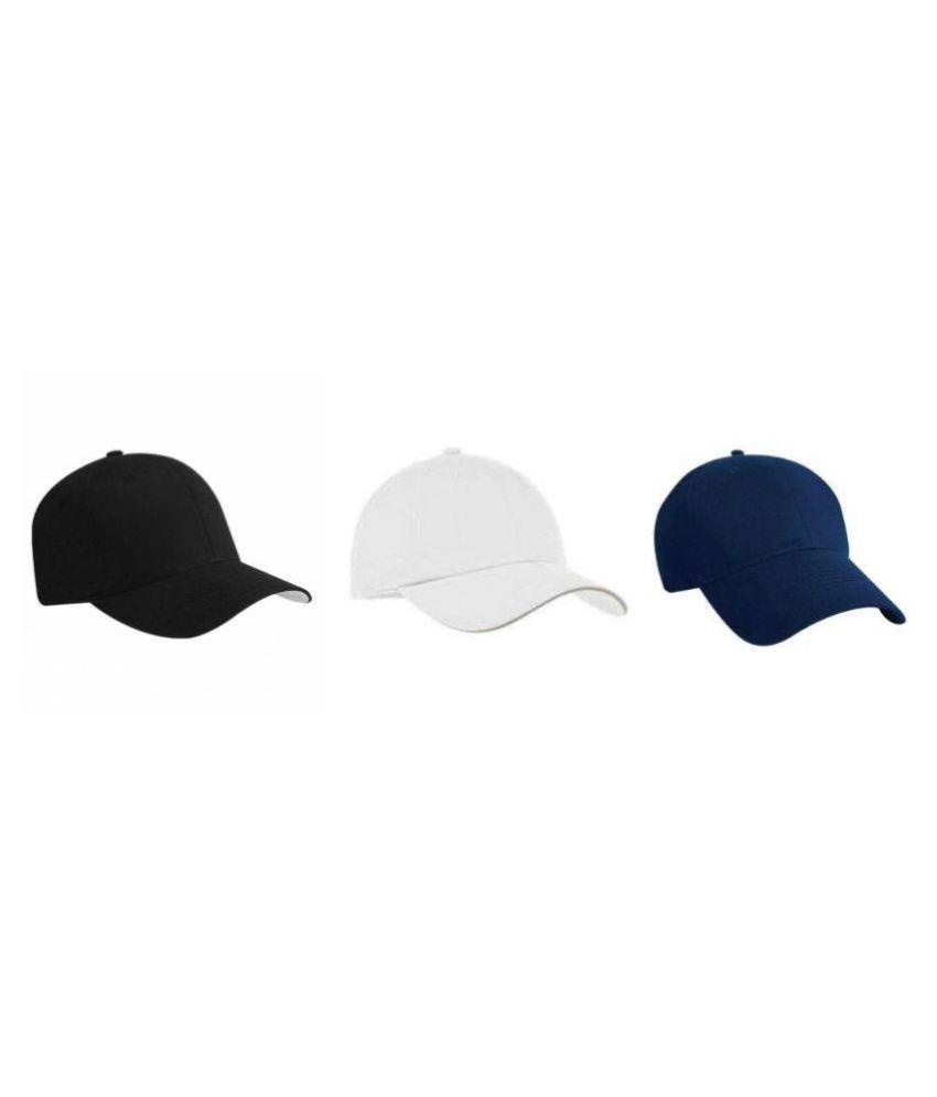 Tahiro Multi Plain Cotton Caps