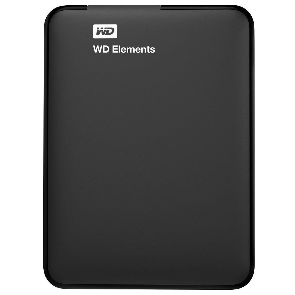 WD Elements 4 TB External Hard Drive (Black)