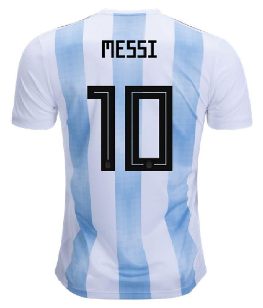 f5422cd1f FIFA World Cup Argentina National Team Jersey (Messi) - Buy FIFA World Cup  Argentina National Team Jersey (Messi) Online at Low Price in India -  Snapdeal
