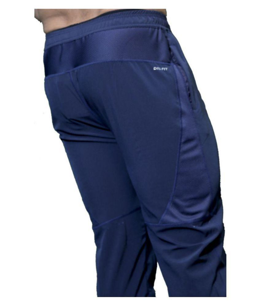 b8ca963dc Nike Dry Phnm Blue Running Track Pants - Buy Nike Dry Phnm Blue ...