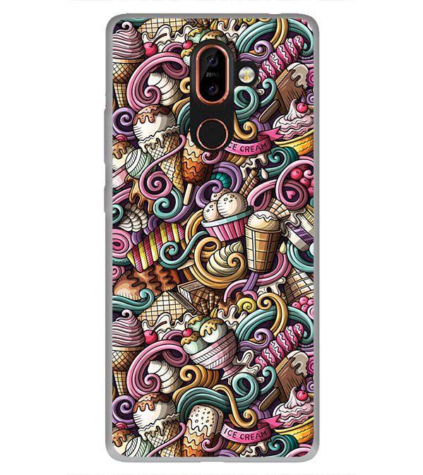 Nokia 7 Plus Printed Cover By YuBingo