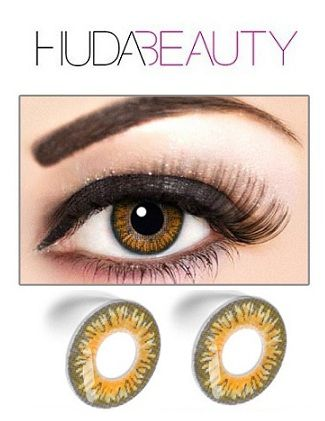 2f0f2fa9e14 Huda Beauty Color Contact Lenses Eyes 3 gm  Buy Huda Beauty Color Contact  Lenses Eyes 3 gm at Best Prices in India - Snapdeal
