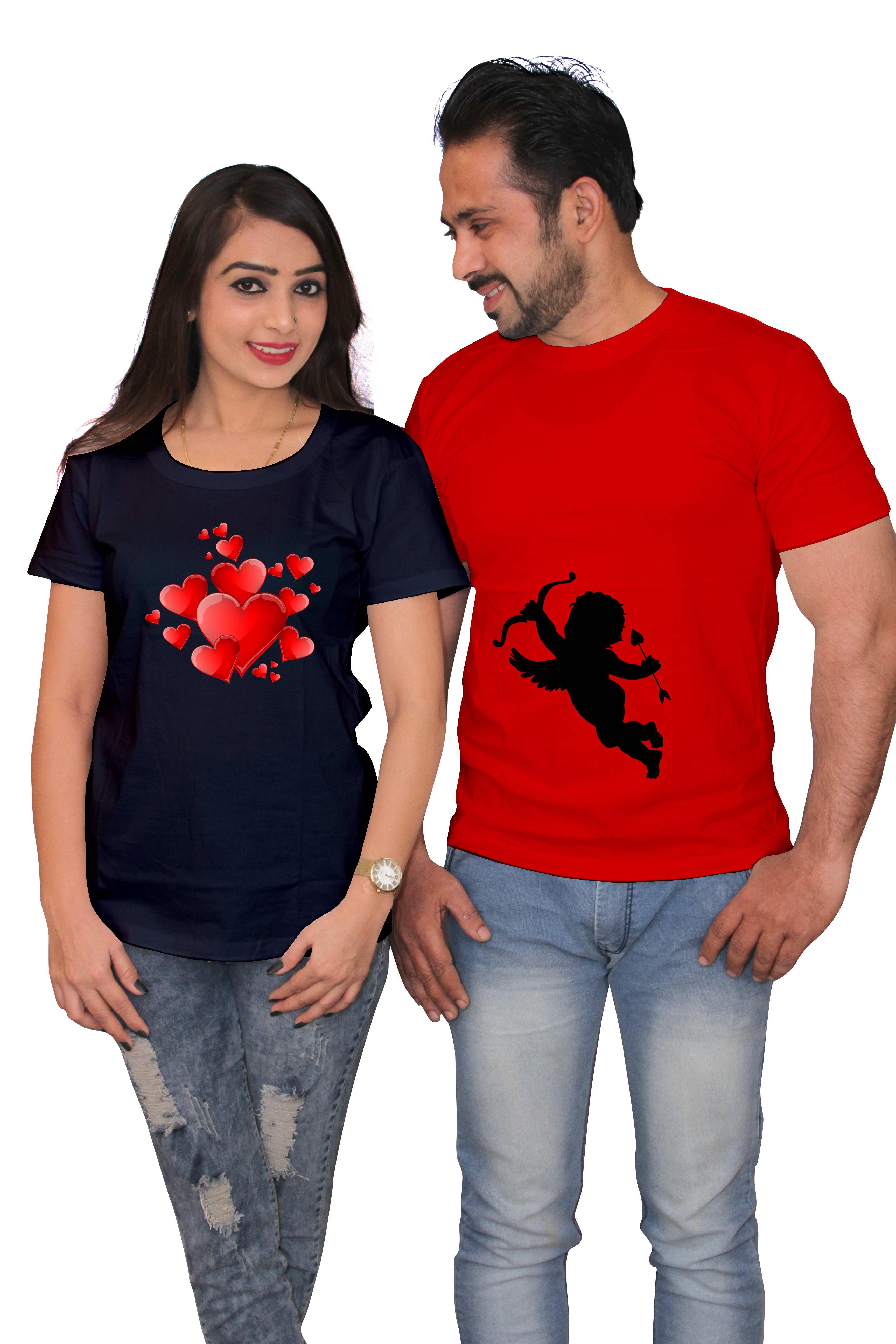 J B Trendz Multi Color 100 percent cotton Couple Combo
