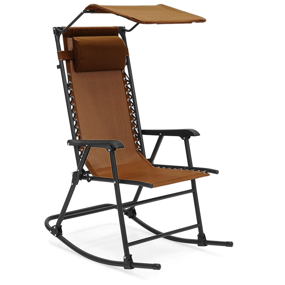 2828d914cb4 Folding Relax Recliner Rocking Chair for Indoor   Outdoor Purpose ...