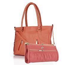 fe79e4ee1bbb Brown PU Handbag Source · Handbags Upto 80 OFF 20000 Styles Women Handbags  Online Snapdeal
