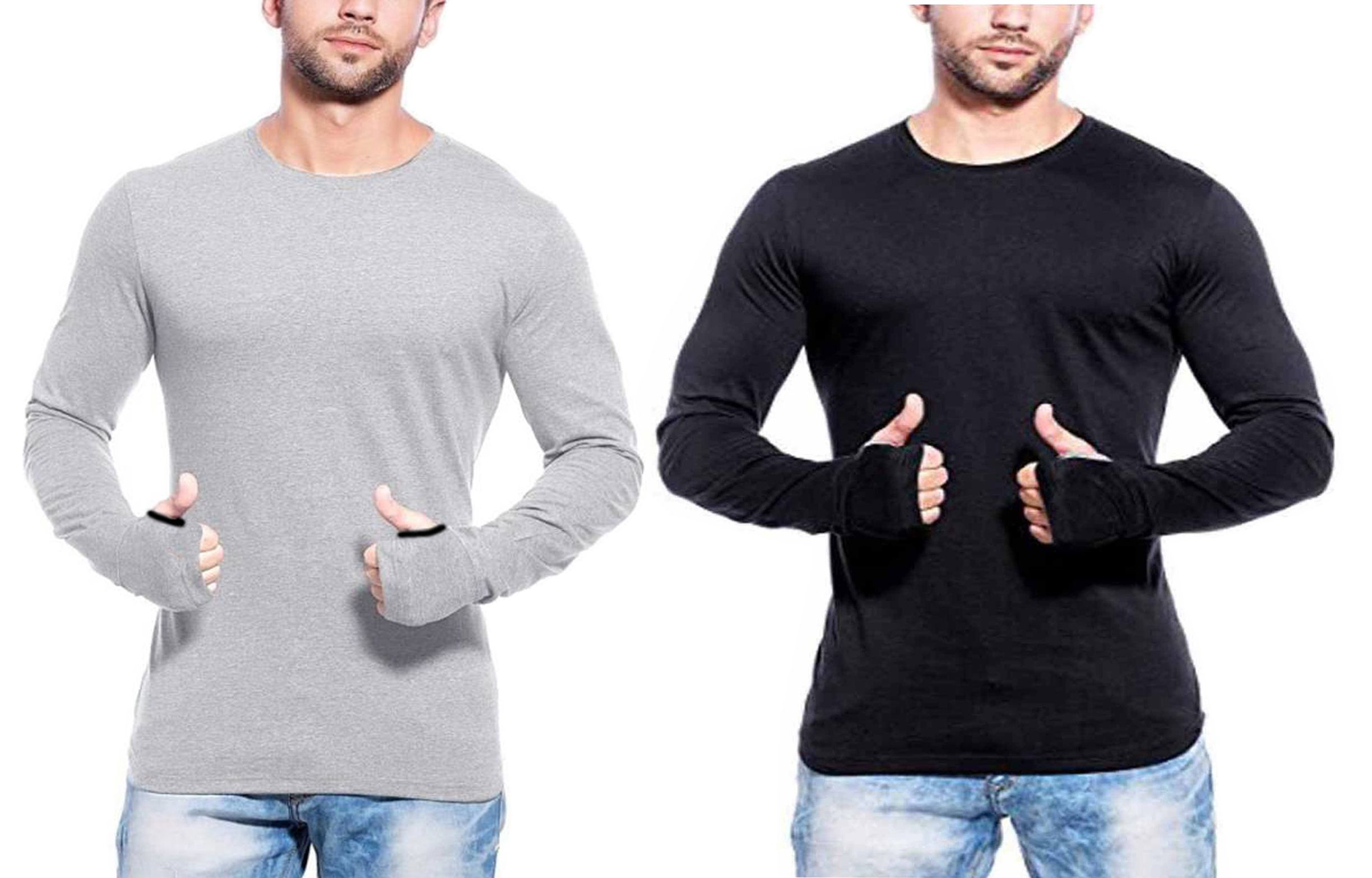 gWOWg Multi Round T-Shirt Pack of 2