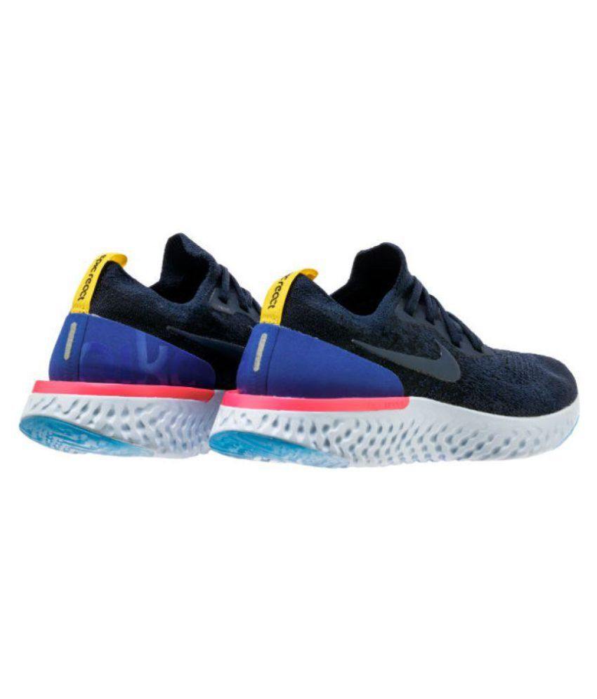 9f77b0032cce Nike Epic React Blue Casual Shoes - Buy Nike Epic React Blue Casual ...