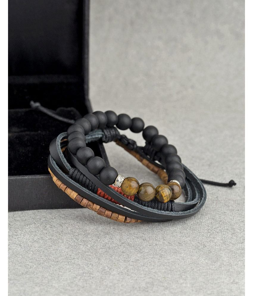 Dare By Voylla Bold Hint Beaded Gypsy Bracelets