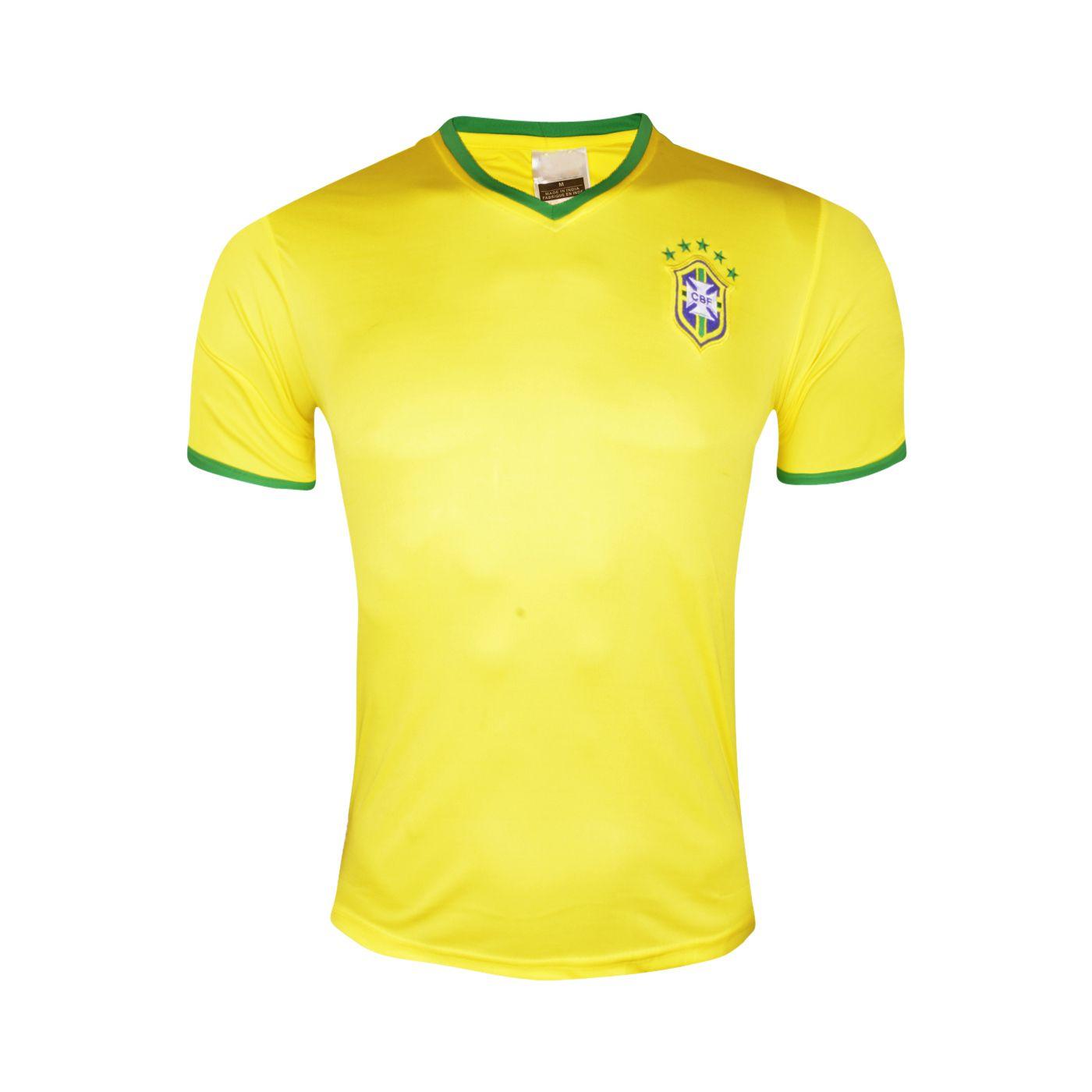 watch b925e cca6d FIFA World Cup Brazil National Football Team Yellow Color Jersey LCL