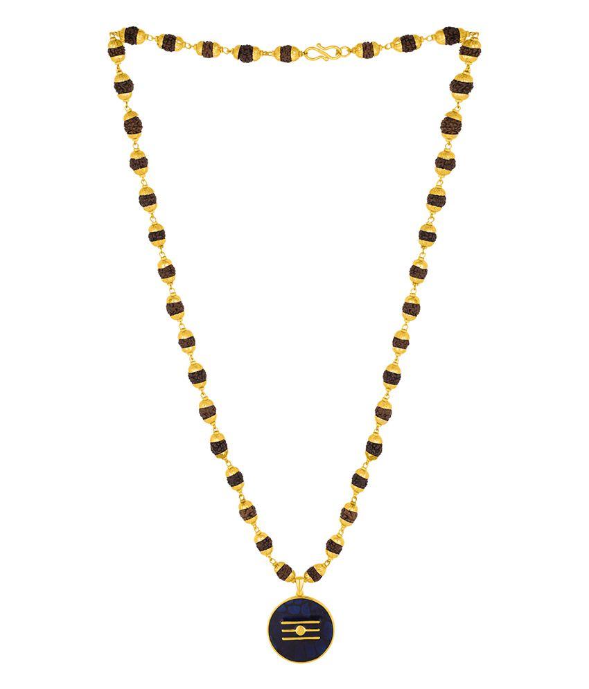 Dare Lord Shiva Mahadev Rudraksha Necklace for men