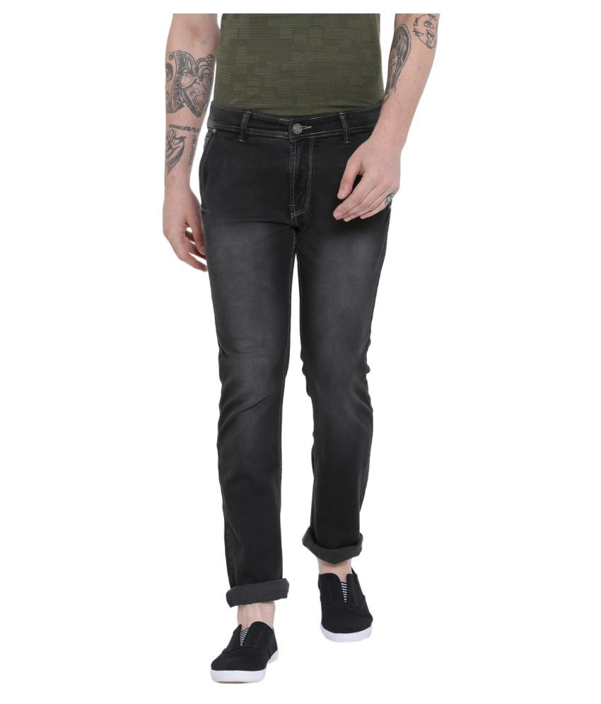 Duke Grey Slim Jeans