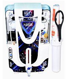 NEXUS PURE JAZZ WHITE Copper + Alkaline 10 Ltr RO + UV + UF + TDS CONTROLLER Water Purifier