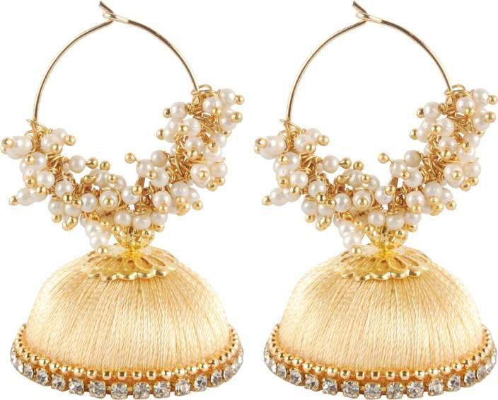 Silk Thread Earring For Girls Or Woman