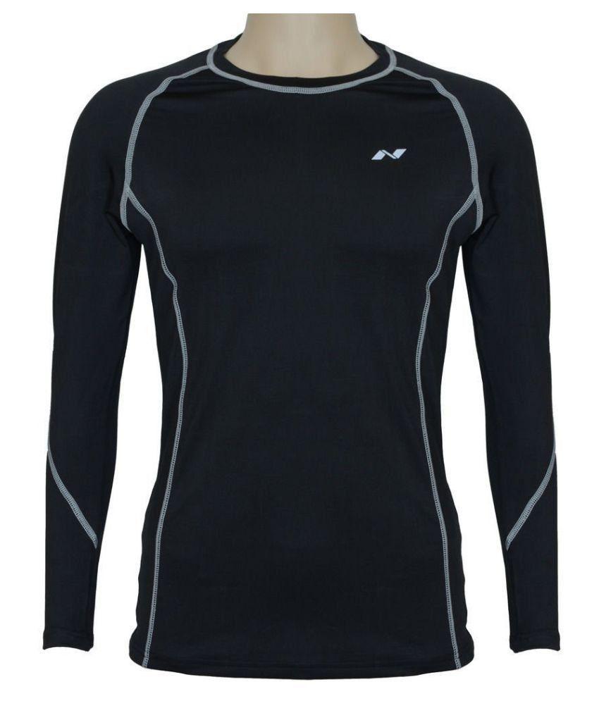 Nivia Black Polyester Jersey-1861s1