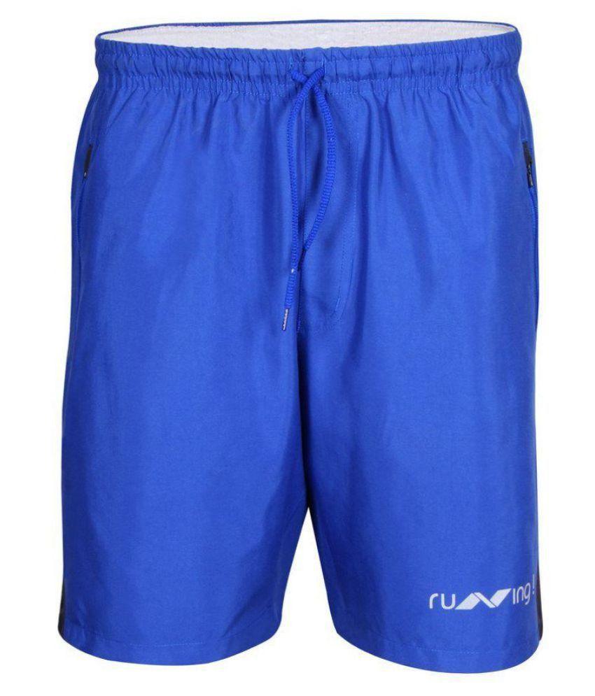 Nivia Blue Running Shorts-n2037s9