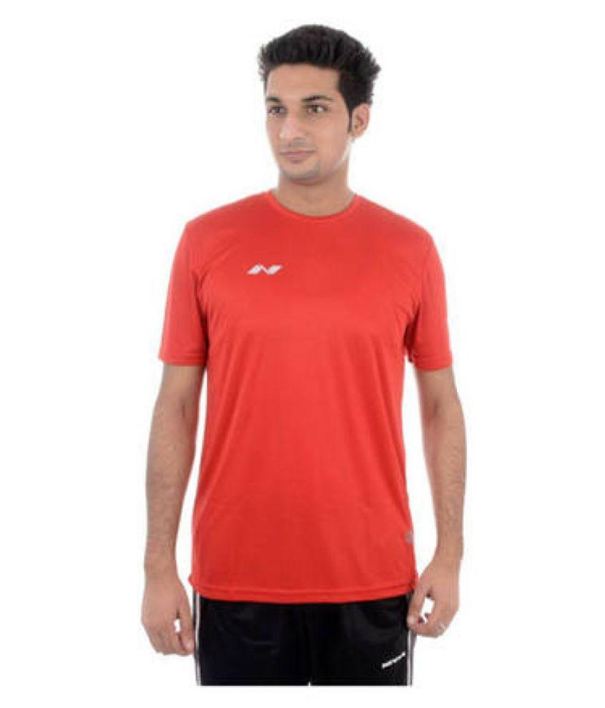Nivia Red Polyester Jersey-2205S3