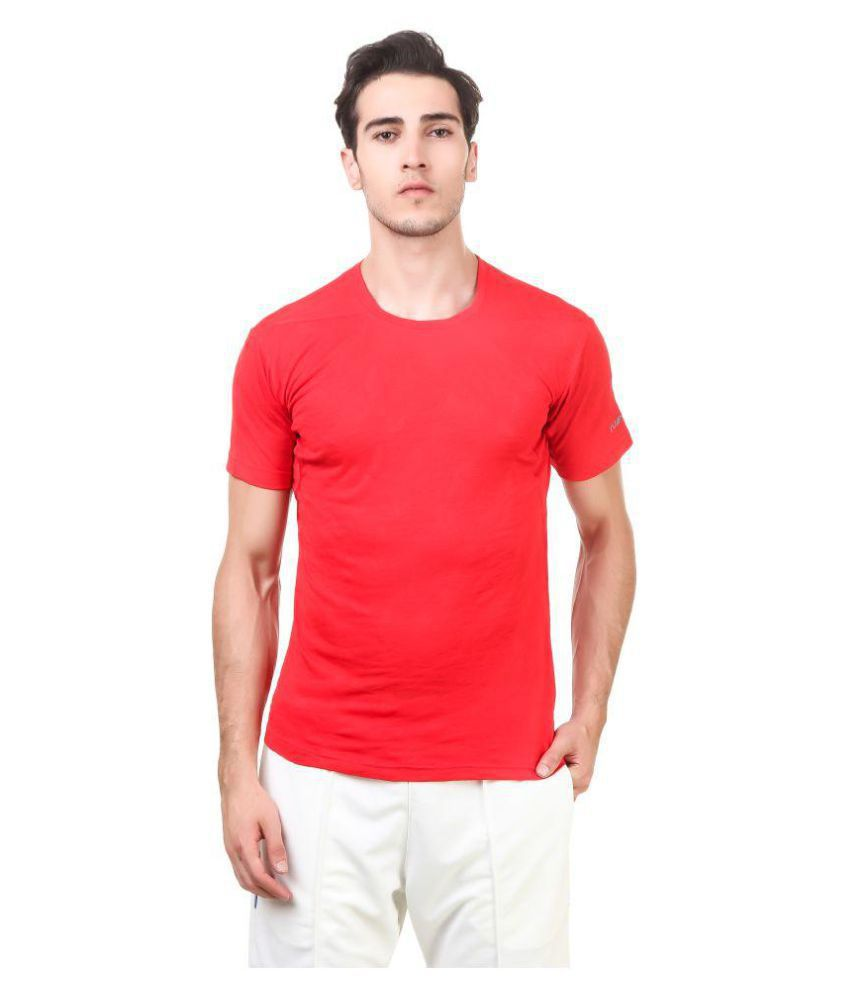 Nivia Red Polyester Jersey-2234L-4