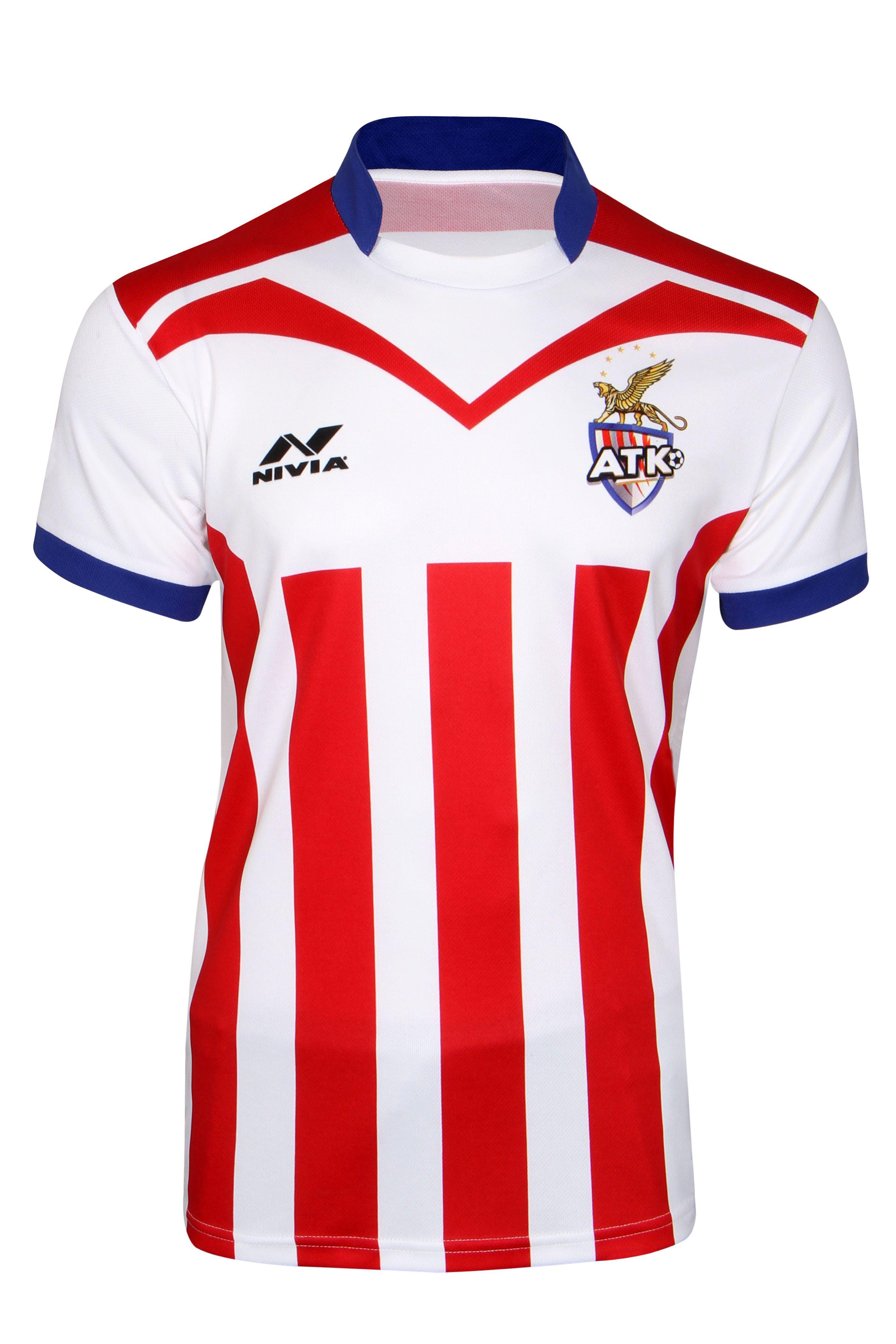 Nivia Atletico De Kolkata Team Jersey-N-PK-PP-J-S