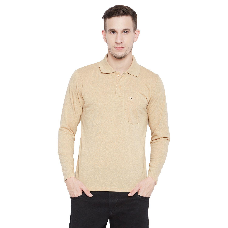 Camey Black Full Sleeve T-Shirt Pack of 1