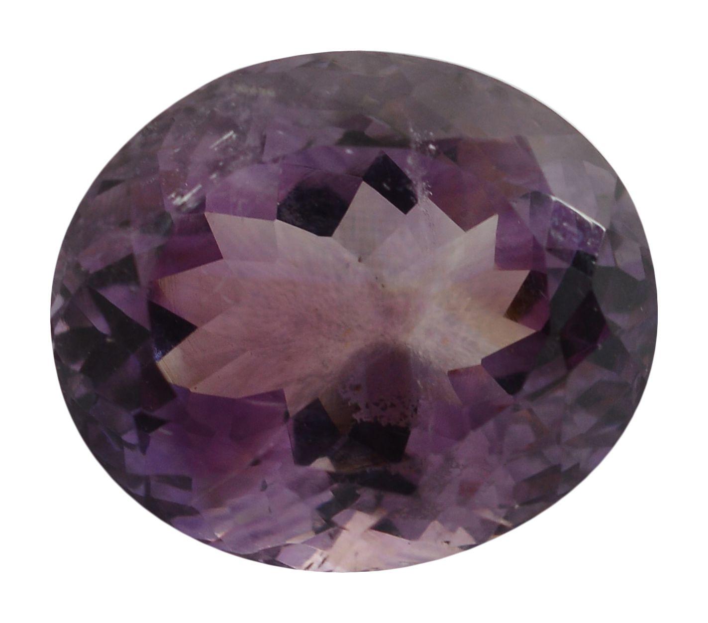 pitliya jewellers 6 -Ratti Self certified Purple Amethyst Semi-precious Gemstone