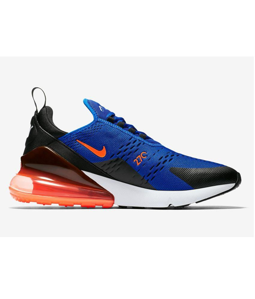 best sneakers f7c4a 9f9b8 Nike Air Max 270 Blue Running Shoes - Buy Nike Air Max 270 Blue Running  Shoes Online at Best Prices in India on Snapdeal