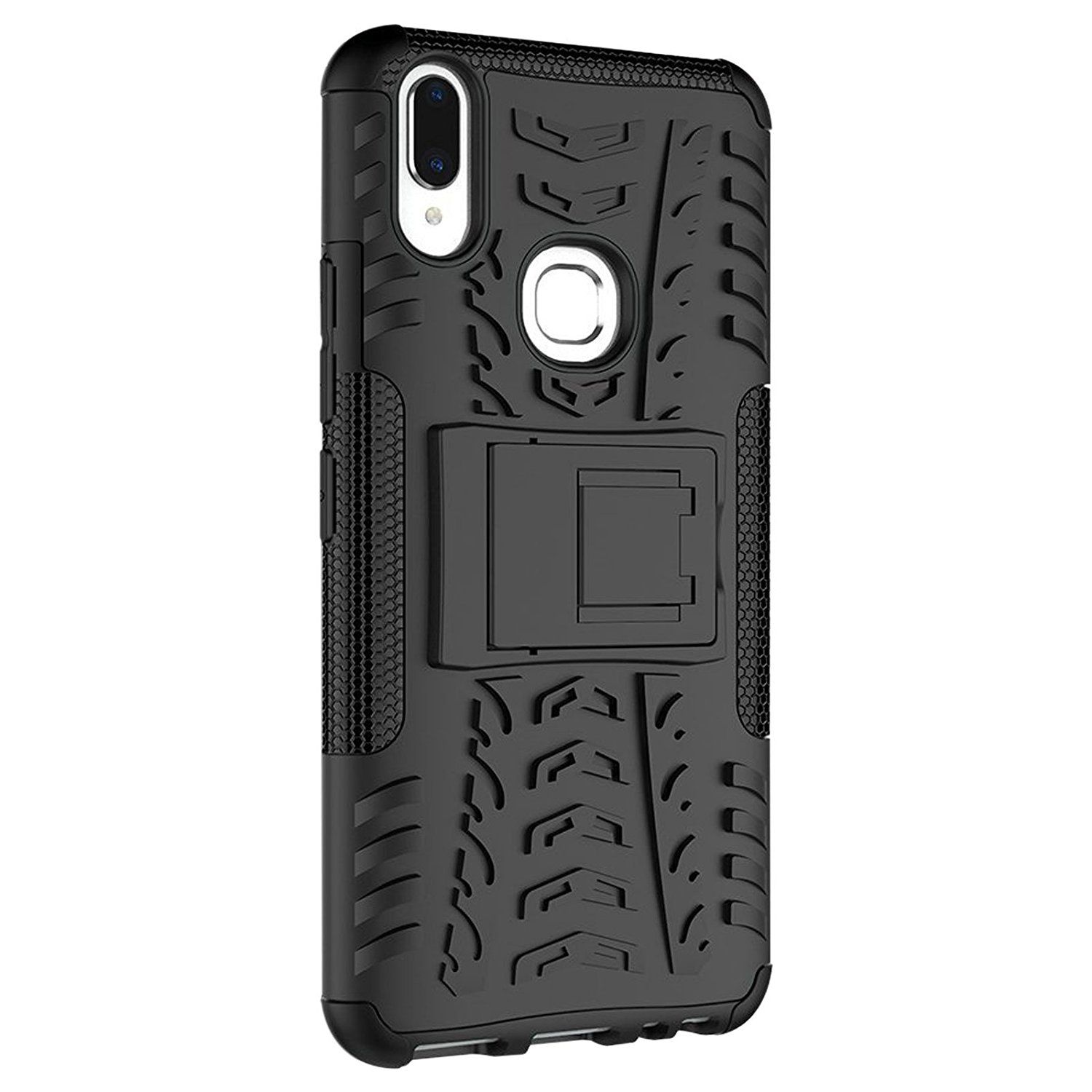 Vivo V9 Youth Cases with Stands Explocart Black