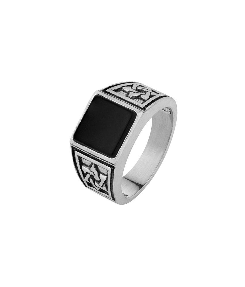 Dare Stone & Star Milestone Ring  for men