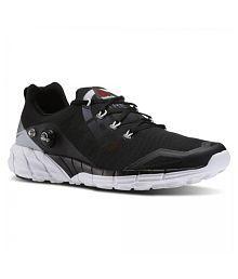 Reebok PUMP Black Running Shoes