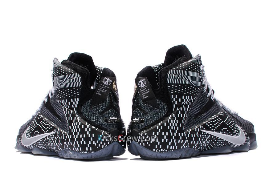 30873b6d5ec Nike Lebron 12 BHM Black Training Shoes - Buy Nike Lebron 12 BHM ...