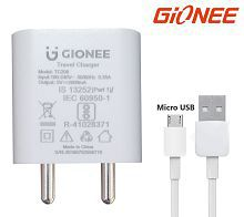 Gionee 2.1A Travel Charger with Micro USB Cable for Gionee Mobiles