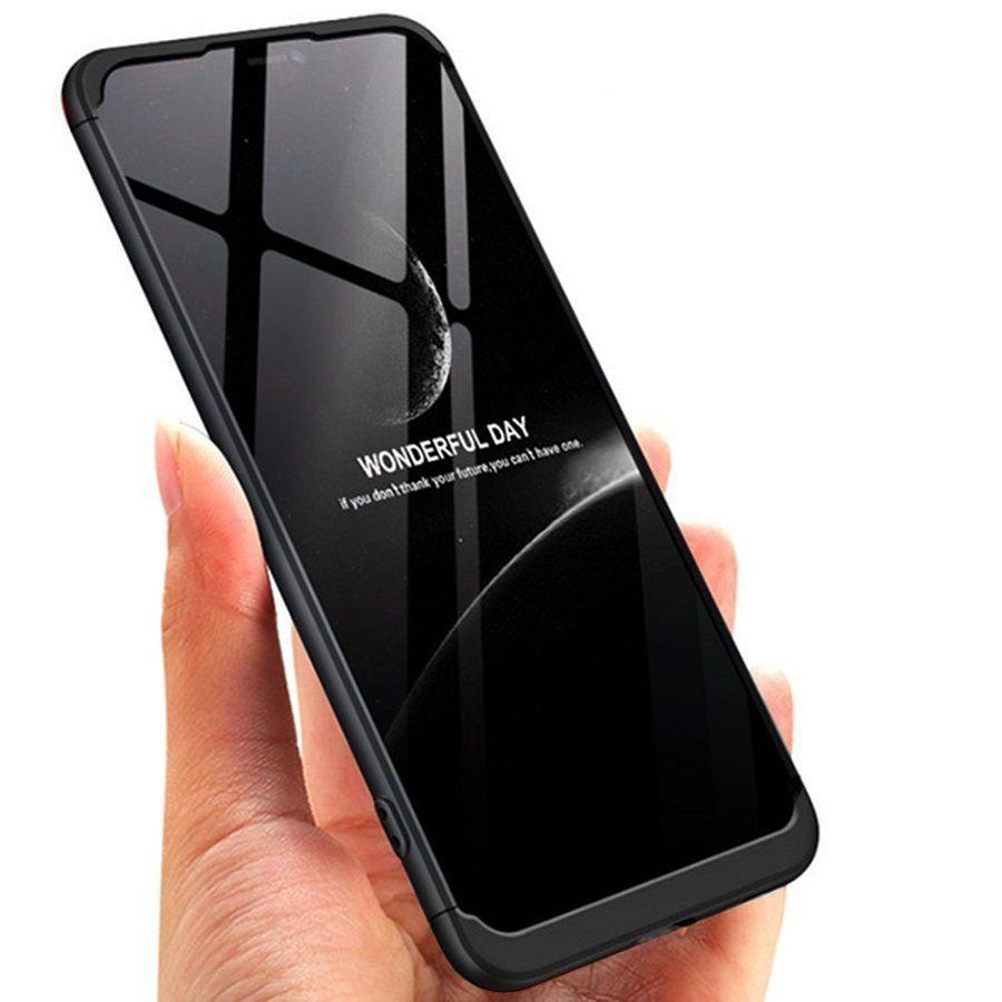 best authentic a9314 4a5db OnePlus 6 Shock Proof Case JMA - Black Original Gkk 360° Protection Slim  Case