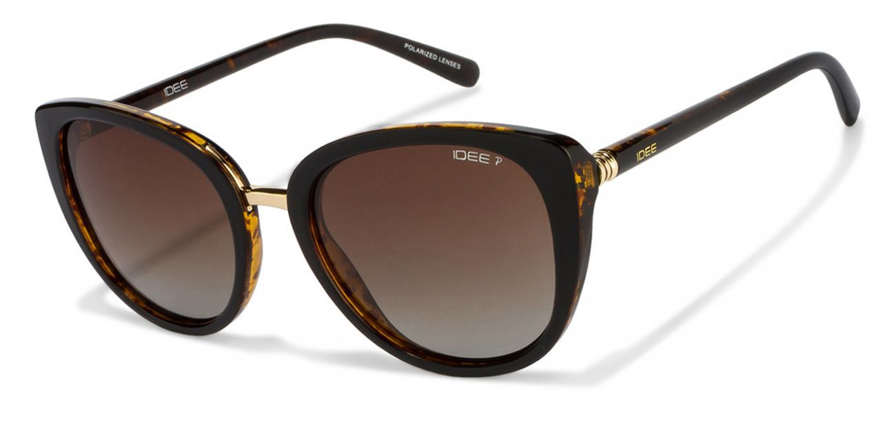 Idee Brown Wayfarer Sunglasses ( 2237C3P )