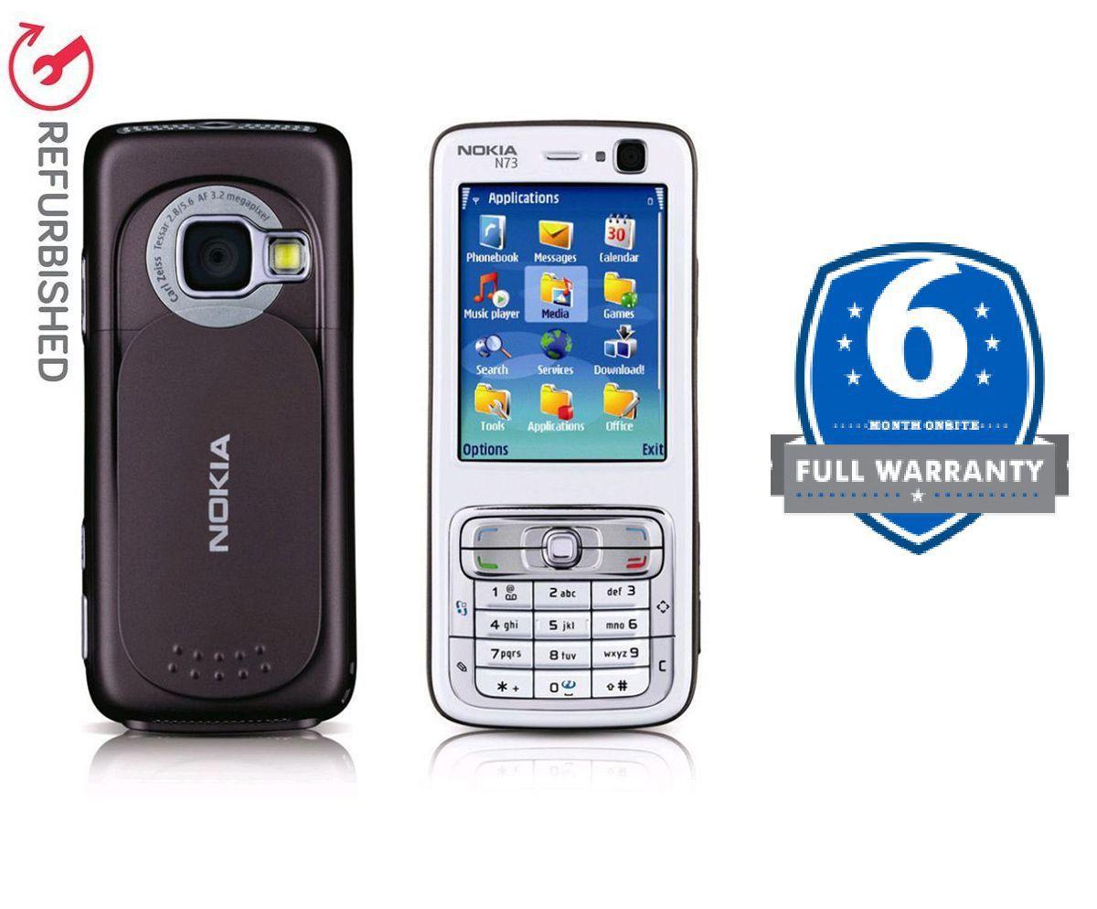 REFURBISHED Nokia N73 Brown - Feature Phone Online at Low