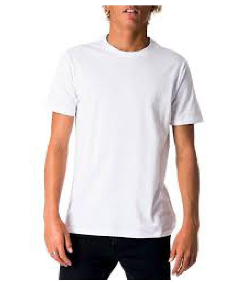 LMS White Round T-Shirt