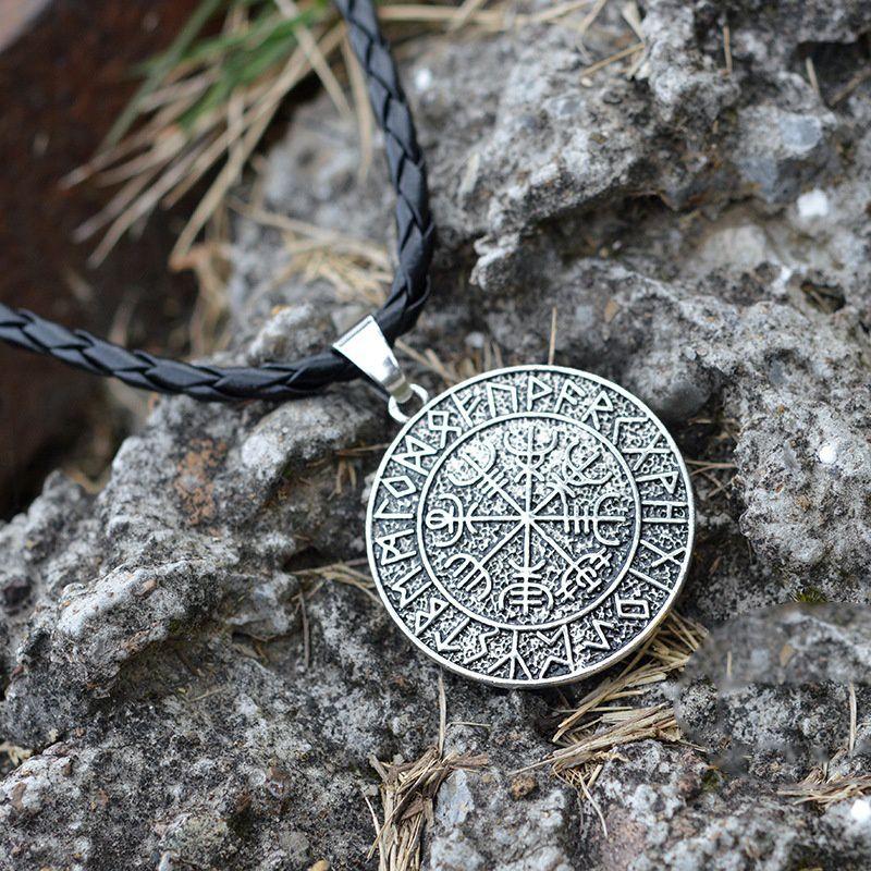 Norse Viking Amulet Pendant Necklace Nordic Talisman Necklace
