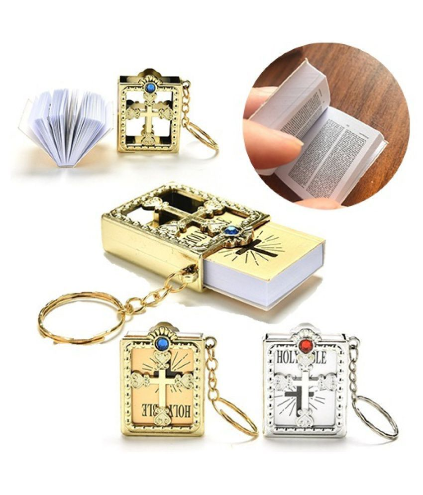 Beautiful Goods Practical Excellent Cross Bible Keychain Style Pretty Best Charm Accessory