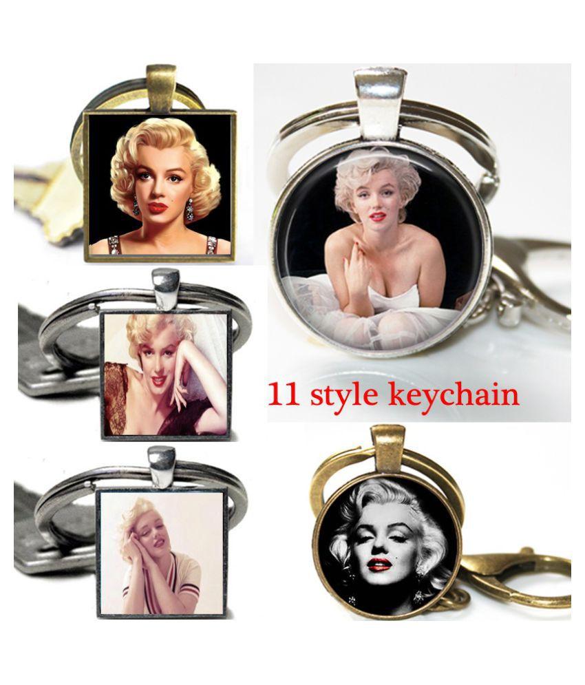 Fashion  Marilyn Monroe key ring  Marilyn Monroe key chain  lover gift